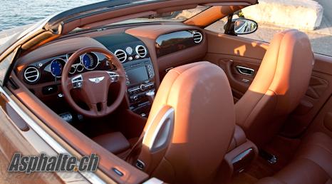 Bentley Continental GTC Speed mk1 - Intérieur