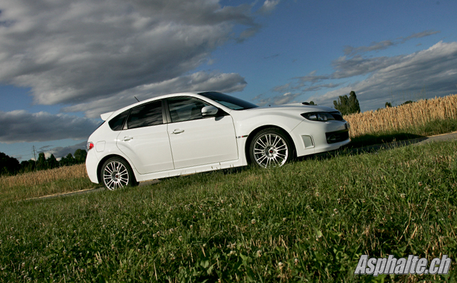 Essai Subaru Impreza WRX STI