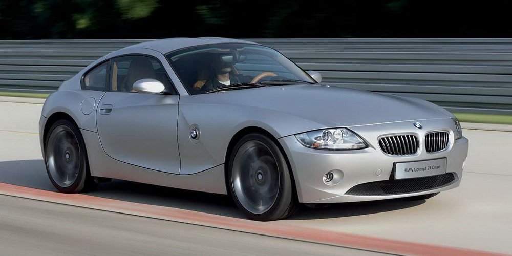 Beautiful 2005 Bmw Z4 Coupe Concept Mold - Brand Cars Images - 17 ...