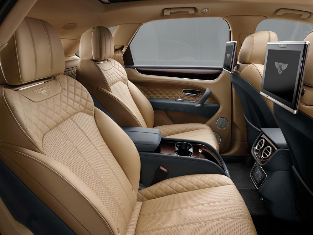 Bentley Bentayga Intérieur