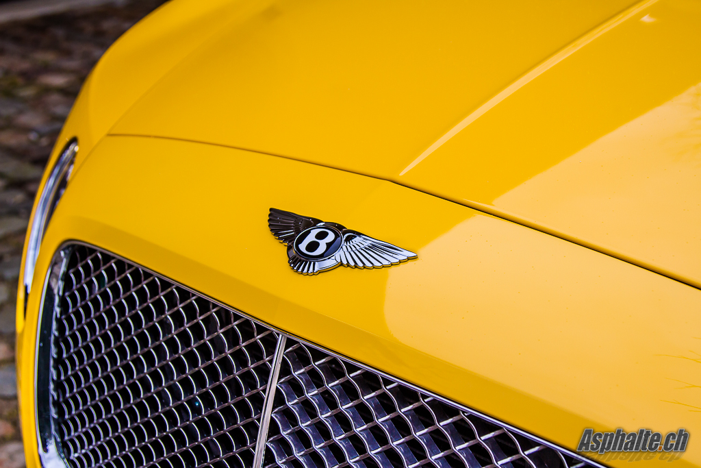 Bentley Continental GT Speed Calandre