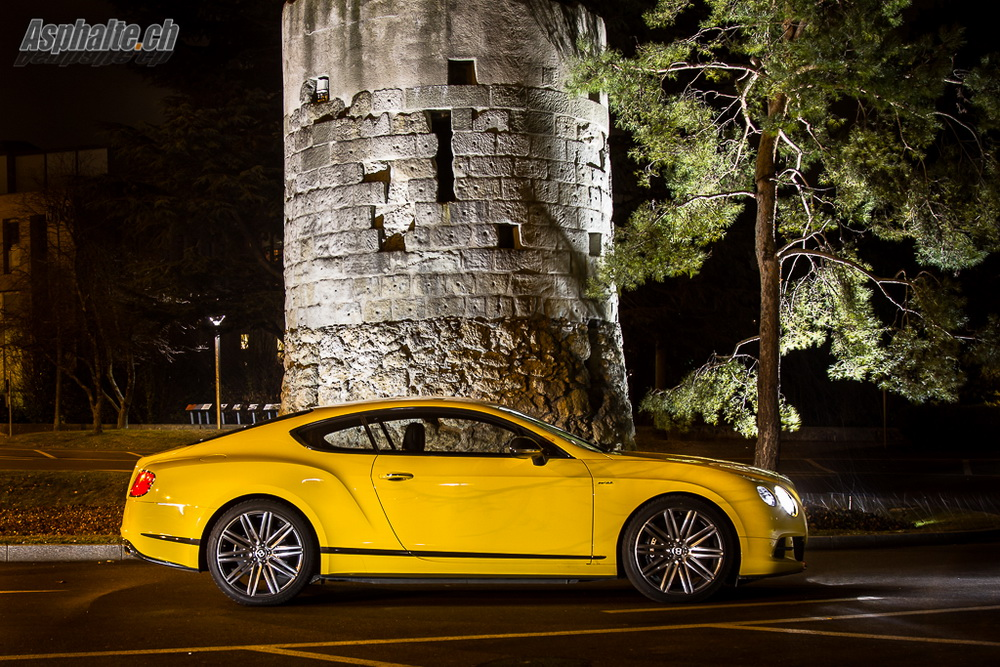 Bentley Continental Gt Speed Yellow