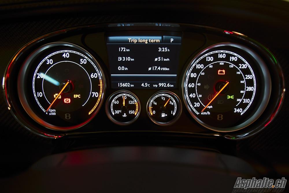 Bentley Continental Gt Speed Yellow Instruments