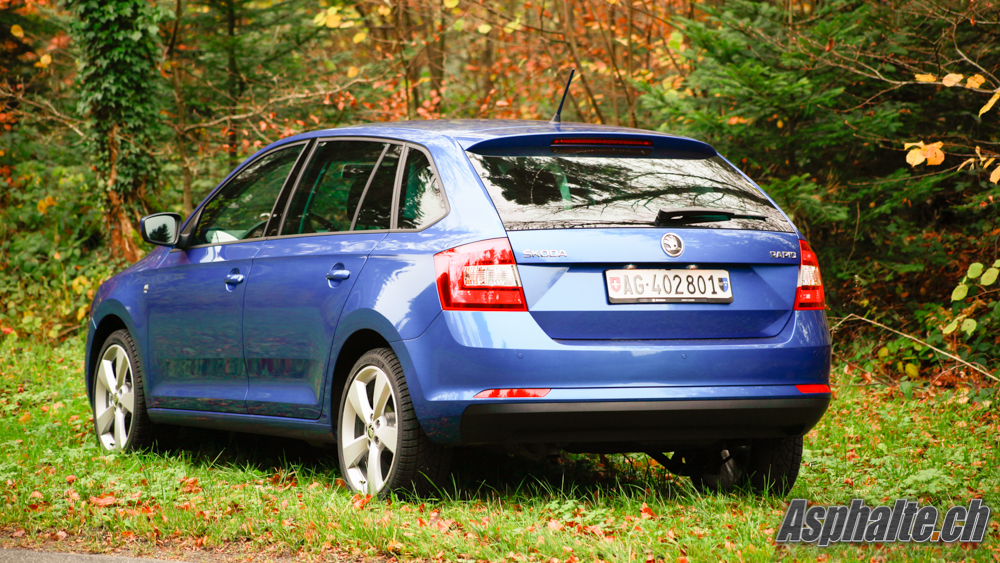 Test Skoda Rapid Spaceback
