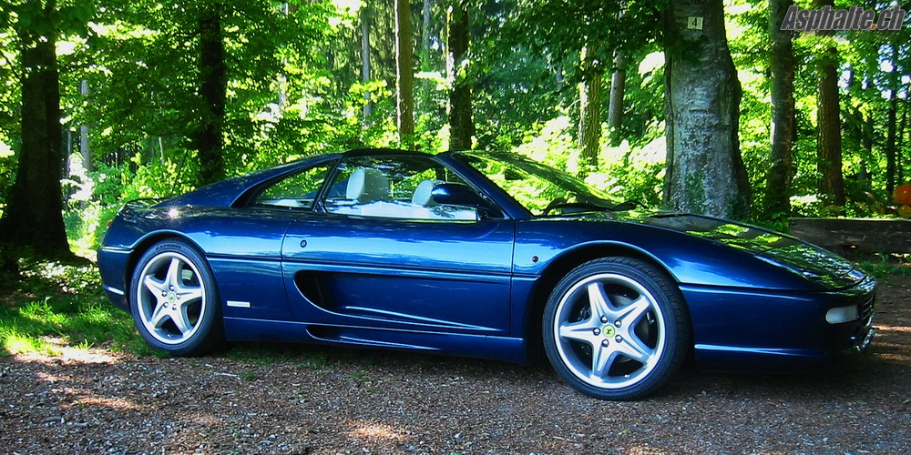 Essai Longue Duree Ferrari 355 on fisker spider