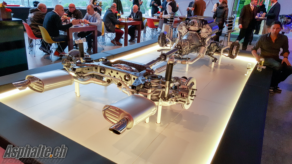 Chassis Ford Mustang mk6