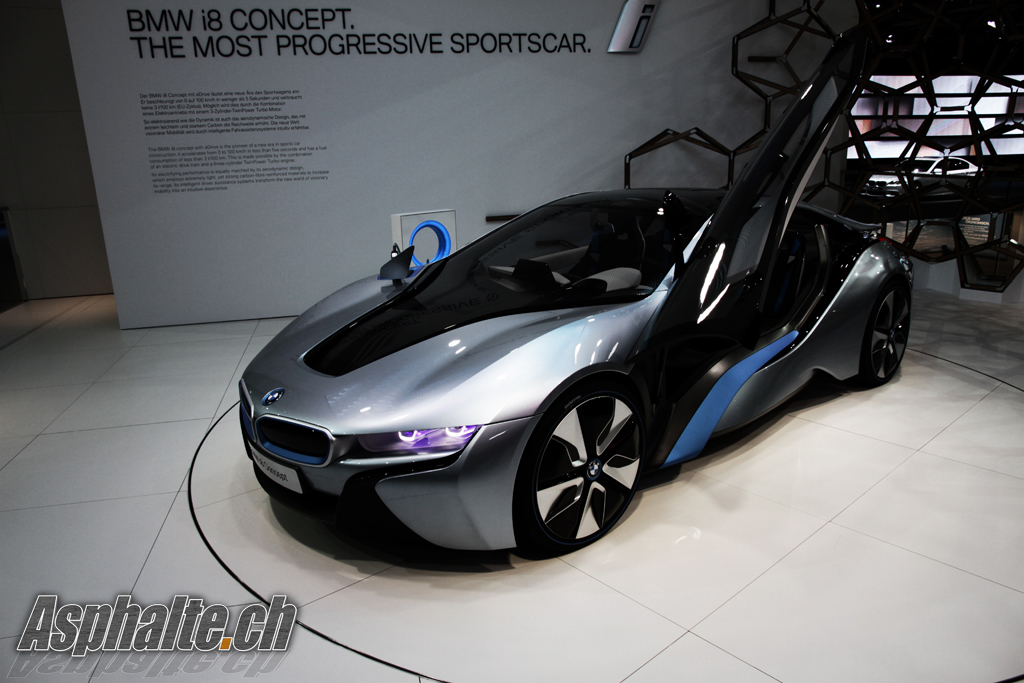 frankfurt 2011 bmw i8 concept. Black Bedroom Furniture Sets. Home Design Ideas