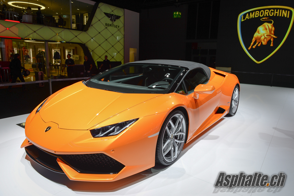 frankfurt 2015 lamborghini huracan lp 610 4 spyder. Black Bedroom Furniture Sets. Home Design Ideas