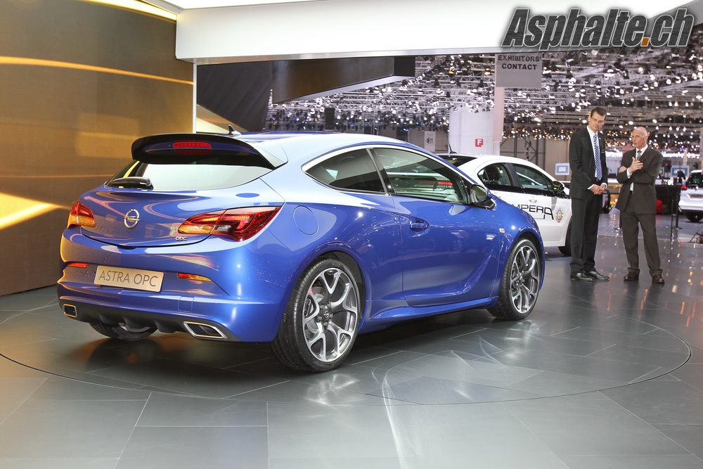 Genève 2012: Opel Astra OPC – Asphalte.ch