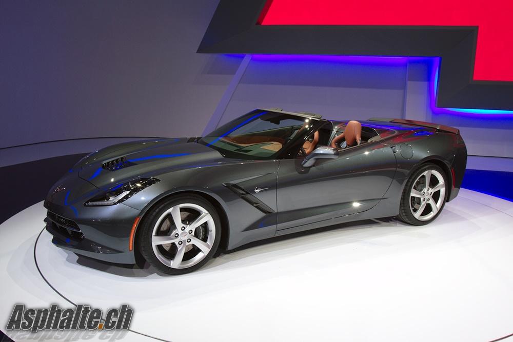 geneva 2013 corvette c7 stingray cabriolet auto news. Black Bedroom Furniture Sets. Home Design Ideas