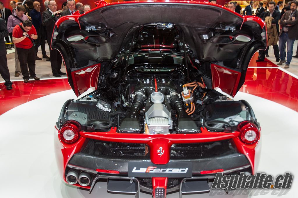 Geneva 2013 Ferrari Laferrari Auto News Asphalte Ch