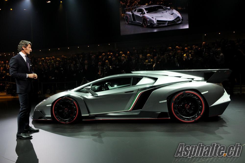 Geneva 2013 Lamborghini Veneno Auto News Asphalte Ch