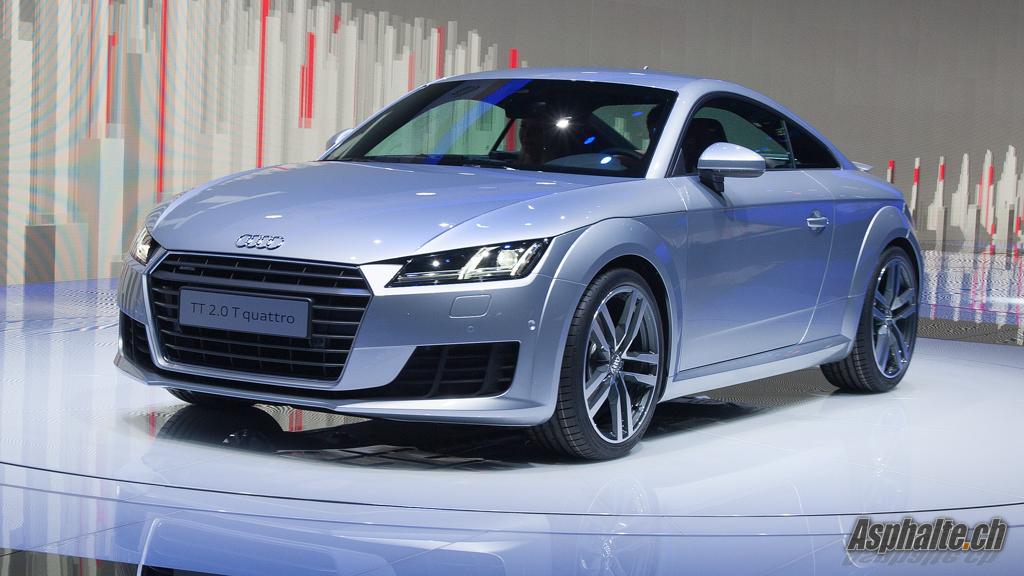 Geneva 2014: Audi TT & TTS mk3 - Auto News: Asphalte.ch