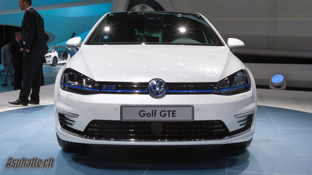 geneva 2014 vw golf gte the hybrid gti auto news. Black Bedroom Furniture Sets. Home Design Ideas