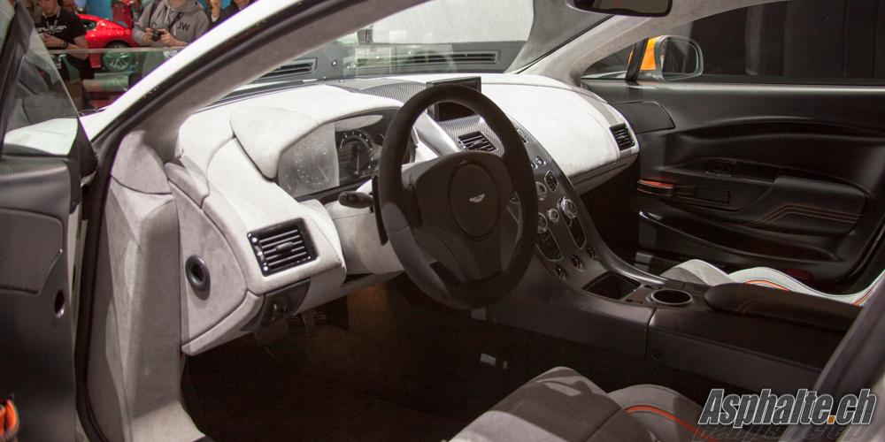 Aston Martin GT3 Intérieur