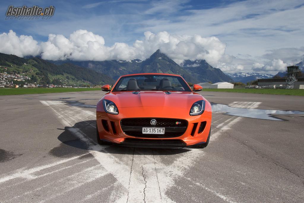 Essai Jaguar F-Type V8-S