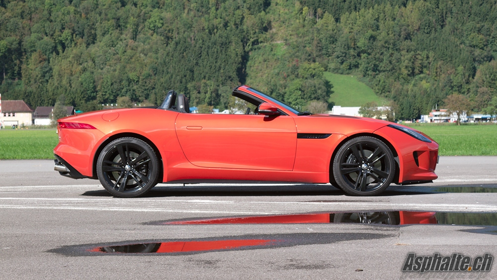 Jaguar F-Type V8-S Firesand