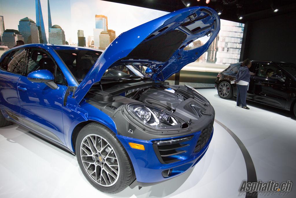 Los Angeles 2013 Porsche Macan Auto News Asphalte Ch