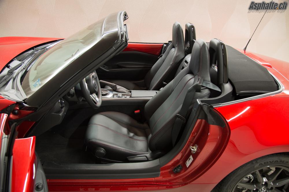 Essai Mazda MX-5 ND sièges
