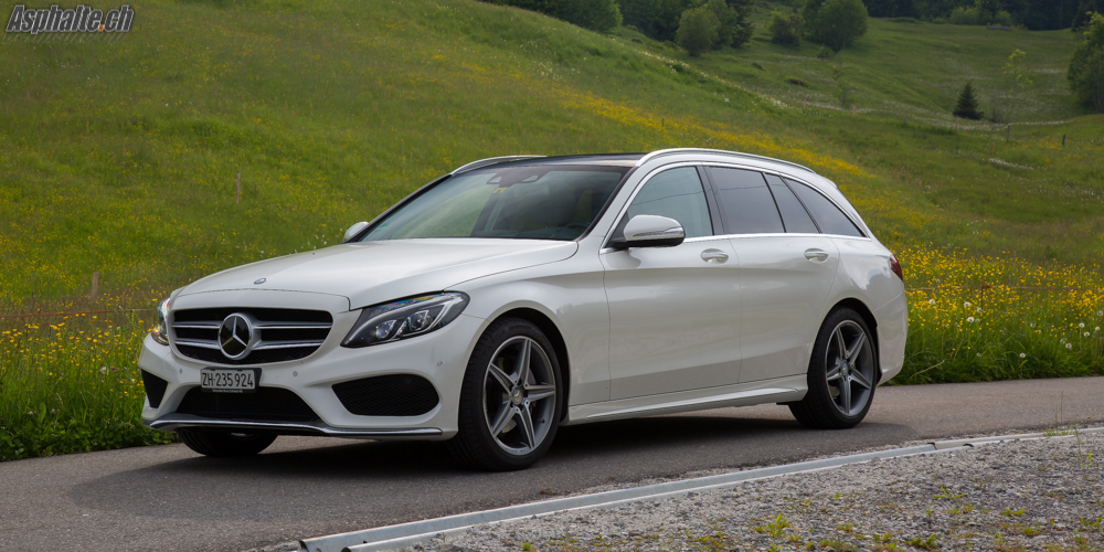 Test Mercedes C220 Bluetec Break W205
