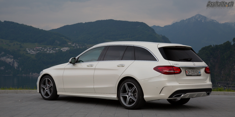 Essai Mercedes C220 Break Bluetec