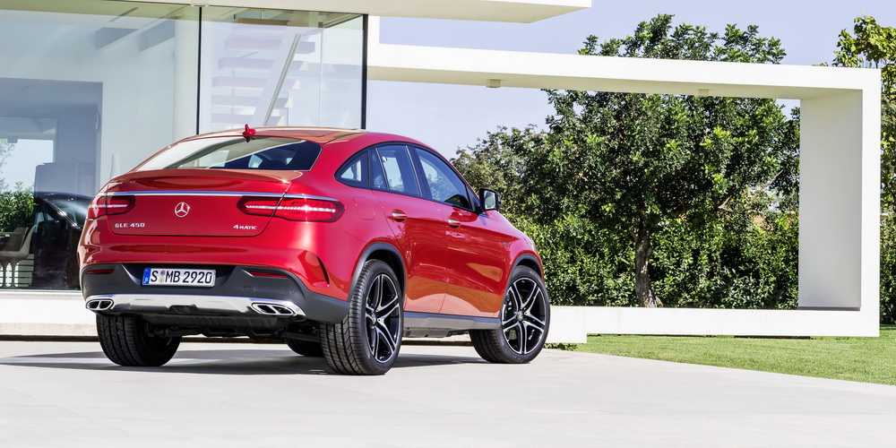 Mercedes gle coup 450 amg for 2014 mercedes benz gle 350