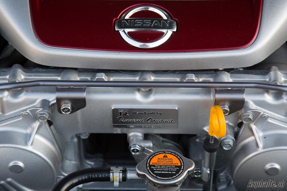 Nissan GT-R 2014 Moteur