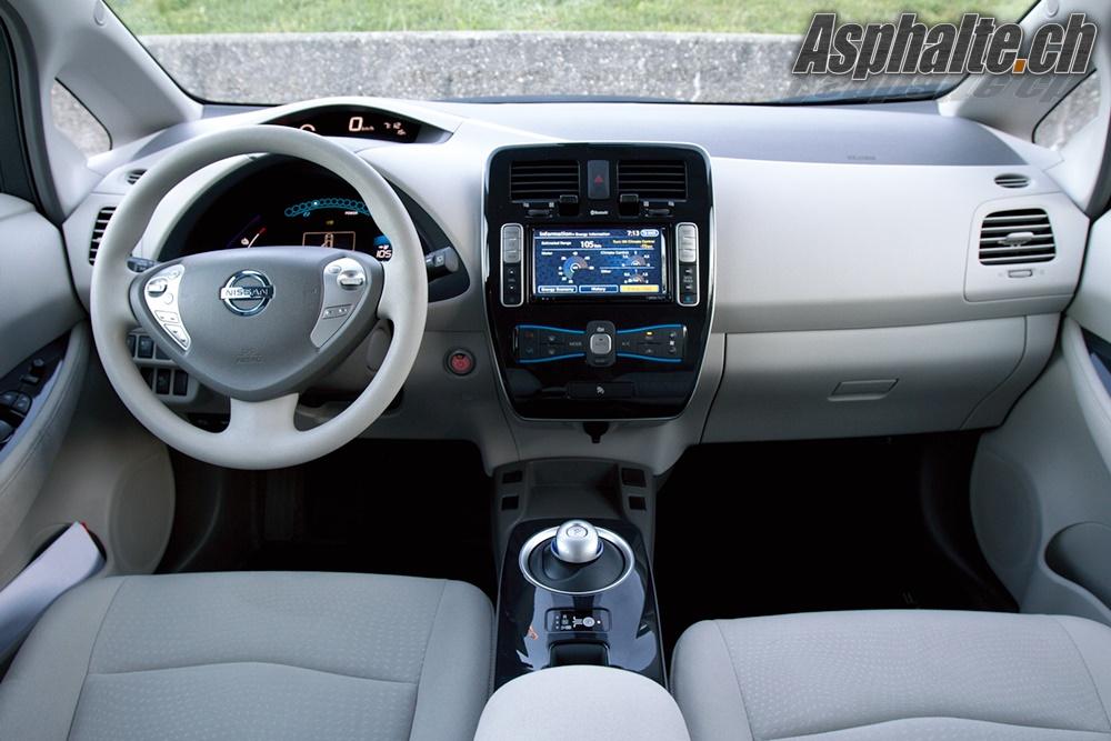 Nissan Leaf - Intérieur