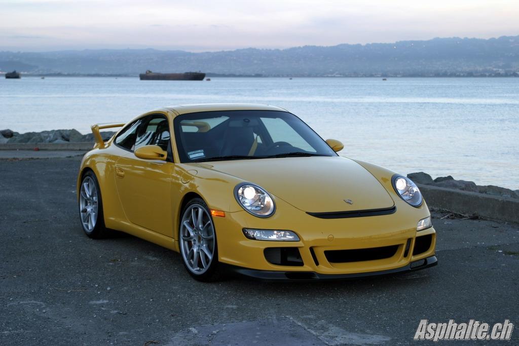 Porsche 997 GT3 Treasure Island