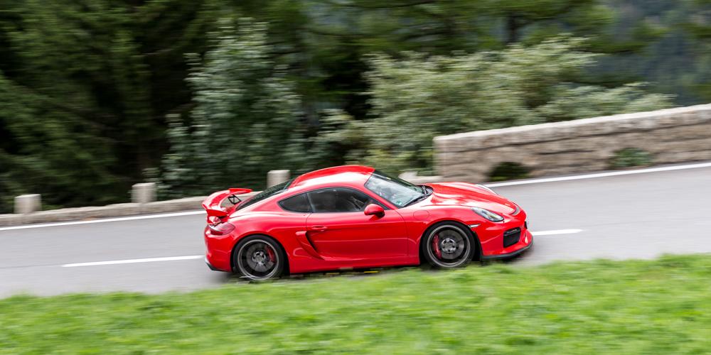 Essai Porsche Cayman GT4