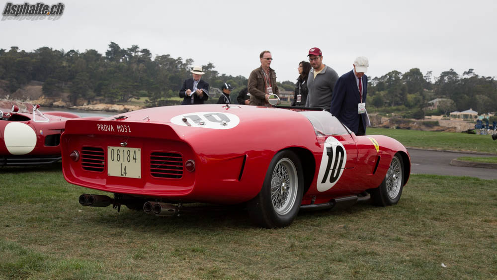 Pebble Beach 2014 20 Ferrari 250 Tr On The Fairway Page