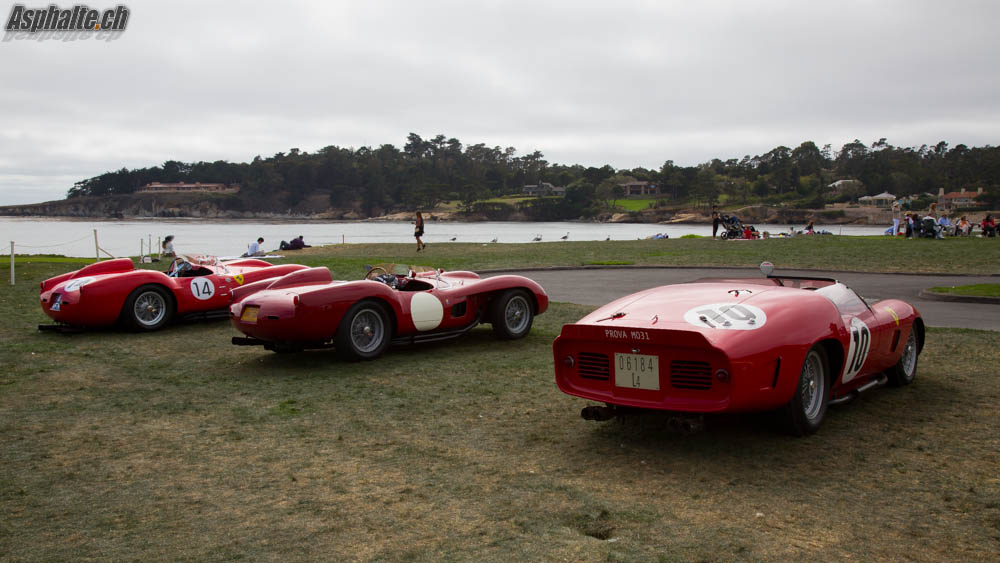 Pebble Beach 2014 20 Ferrari 250 Tr On The Fairway Page