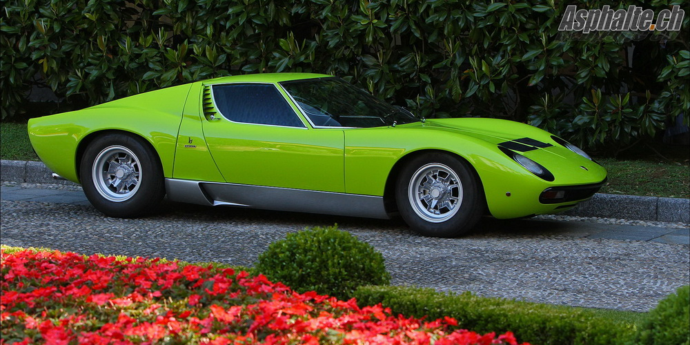 Villa d'Este Classe H: Lamborghini Miura SV