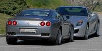 Essai Ferrari 599 GTB 550 Maranello