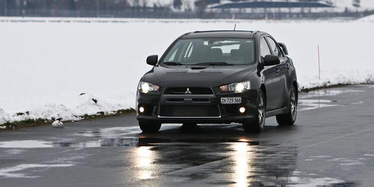 Essai Mitsubishi Lancer Evolution X MR Asphaltech