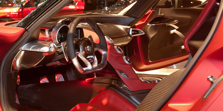 Alfa Romeo 4C Concept intérieur