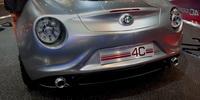 Francfort 2011: Alfa Romeo 4C concept