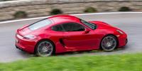 Test Porsche Cayman GTS Rouge Carmin