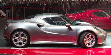 Geneva 2013 Alfa Romeo 4C