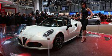 Genève 2014 Alfa Romeo 4C Spider