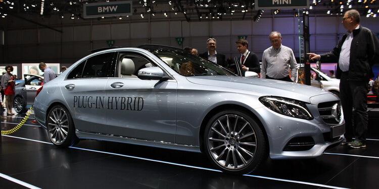Mercedes C350e