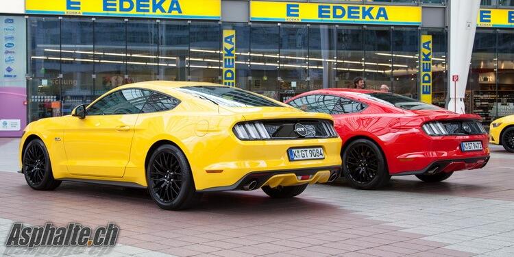 Essai Ford Mustang mk VI