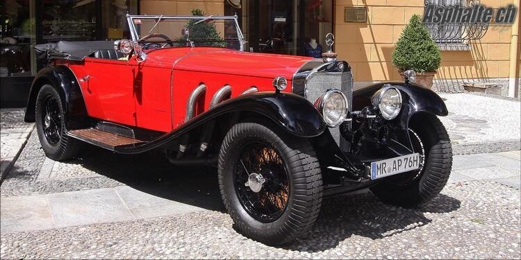 Villa d'Este 2015 Classe B: Mercedes-Benz 710SS