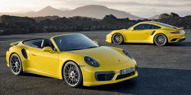 Porsche 911 Turbo S Coupé & Cabriolet