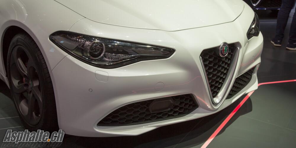 Alfa Romeo Giulia sièges arrière