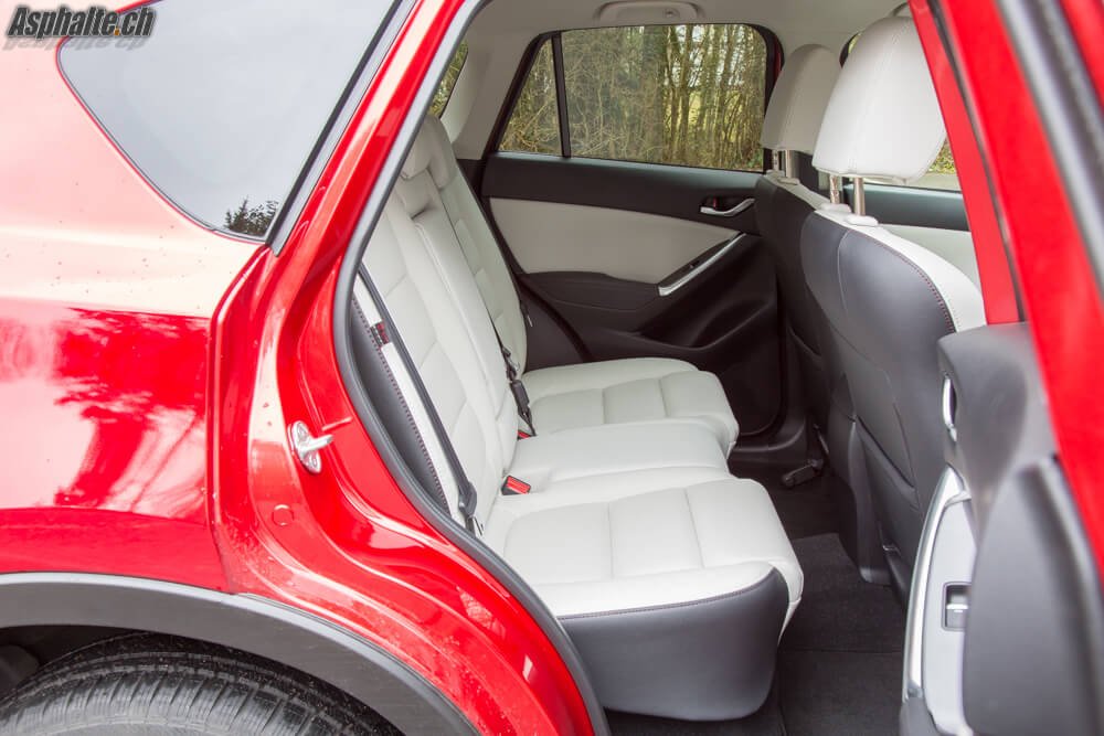 Essai Mazda CX-5 intérieur