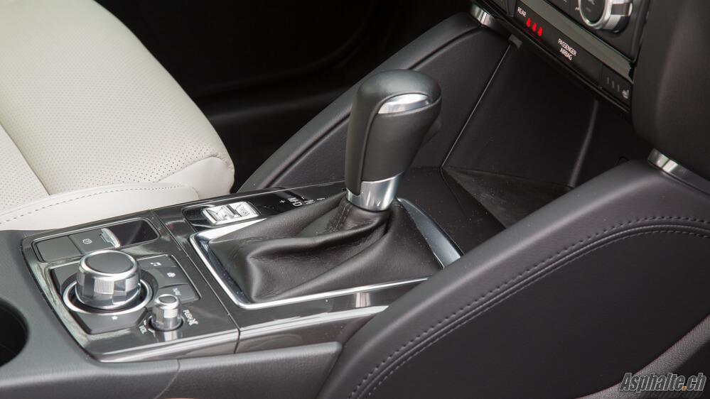 Essai Mazda CX-5 Console Centrale