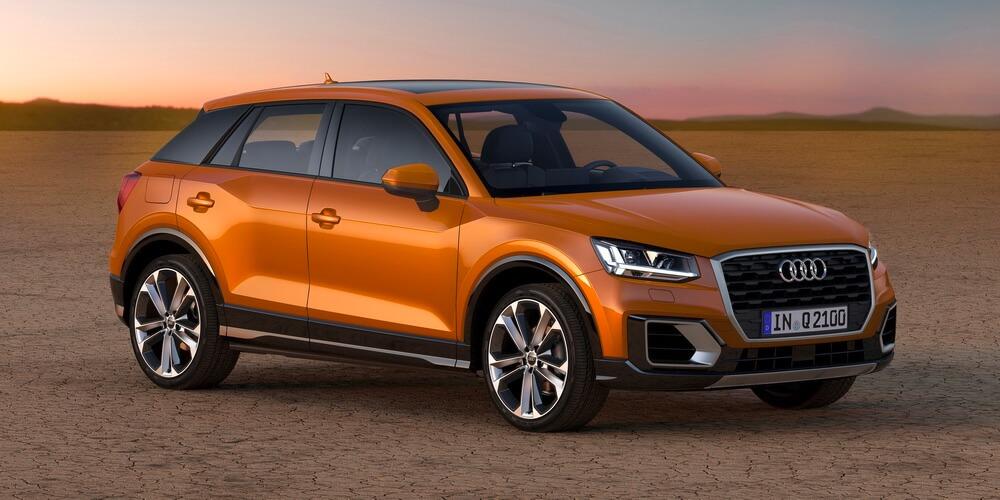Audi Q2 Coral Orange