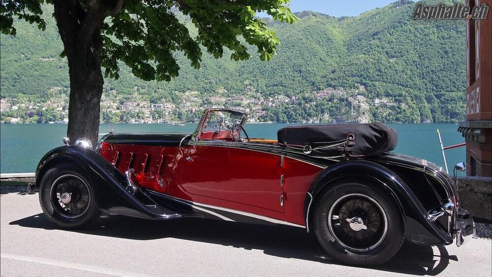 Villa DEste 2016 Classe B Pre War Supercars The Fast