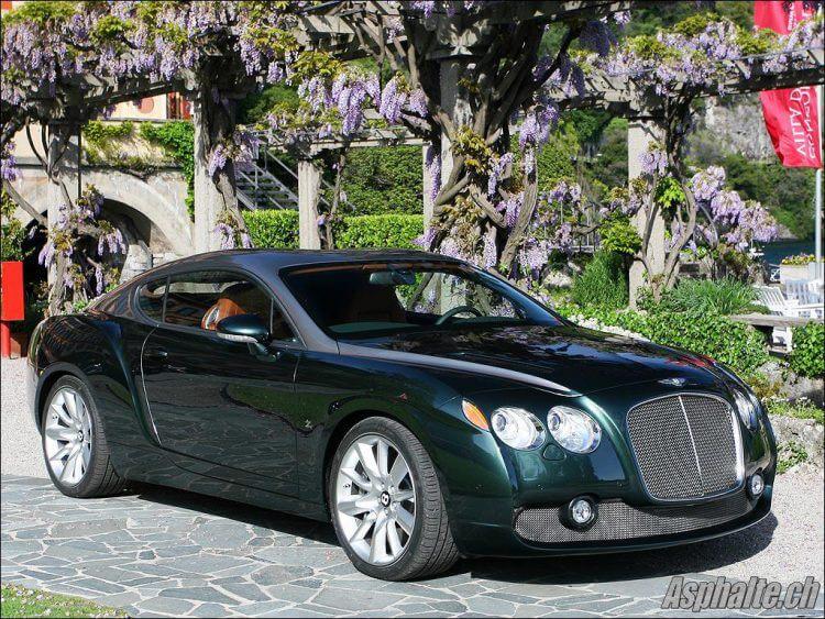 La Bentley Continental GTZ recarrossée par Zagato